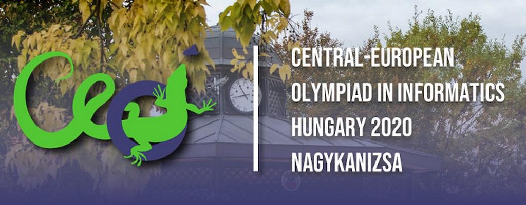 Siker a Közép-európai Informatikai Diákolimpián – CEOI 2020